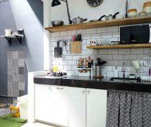 1. Dapur Di Ruang Terbuka