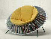 Kursi Dengan Rak Buku
